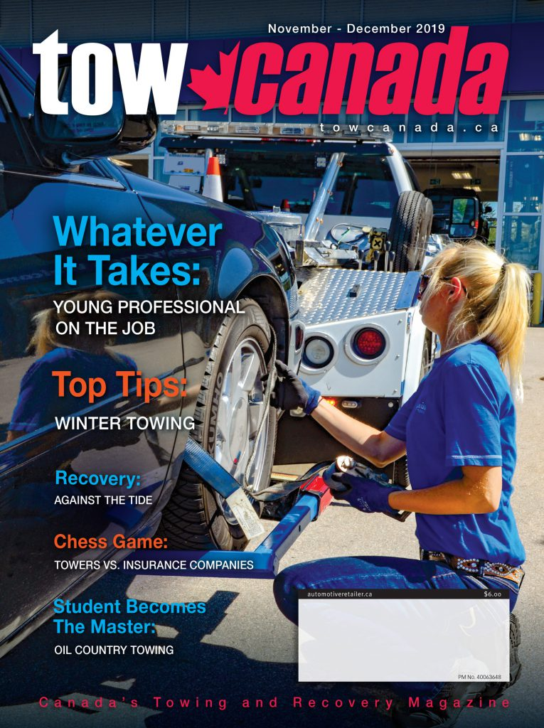 Tow Canada Nov-Dec 2019 issue cover