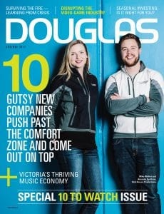 Douglas Apr/May 2017 cover: 10 companies