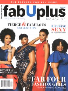 FabUPlus Magazine Fall 2018 cover