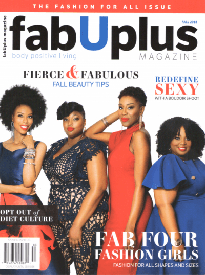 FabUPlus Magazine Fall 2018 cover