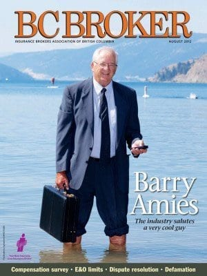 BC Broker Canadian Magazine - The property and casualty insurance industry in B.C.