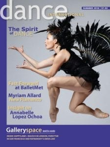 Dance Canadian Magazine - Classical and contemporary dance