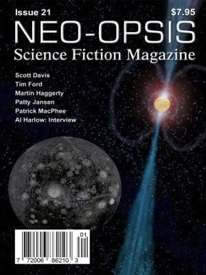 NEO-OPSIS Canadian Magazine - Humorous and factual articles relating to science and science fiction, short stories, editorials, reviews.