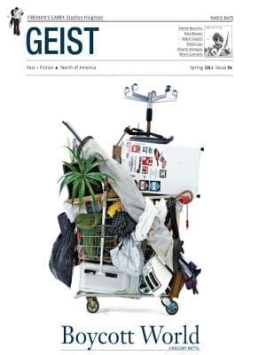 GEIST Canadian Magazine - Ideas and culture with a literary focus and sense of humour.