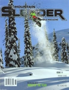 Mountain Sledder issue 11 cover