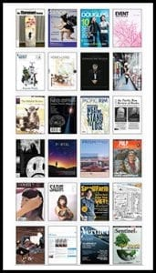 Magazine Association of BC Slider for home page: 24 magazine covers