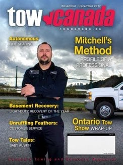 Tow Canada Magazine - Canadian towing professionals