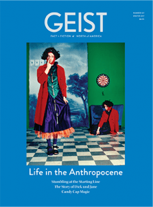 Geist 107 Cover Life in the Anthropocene
