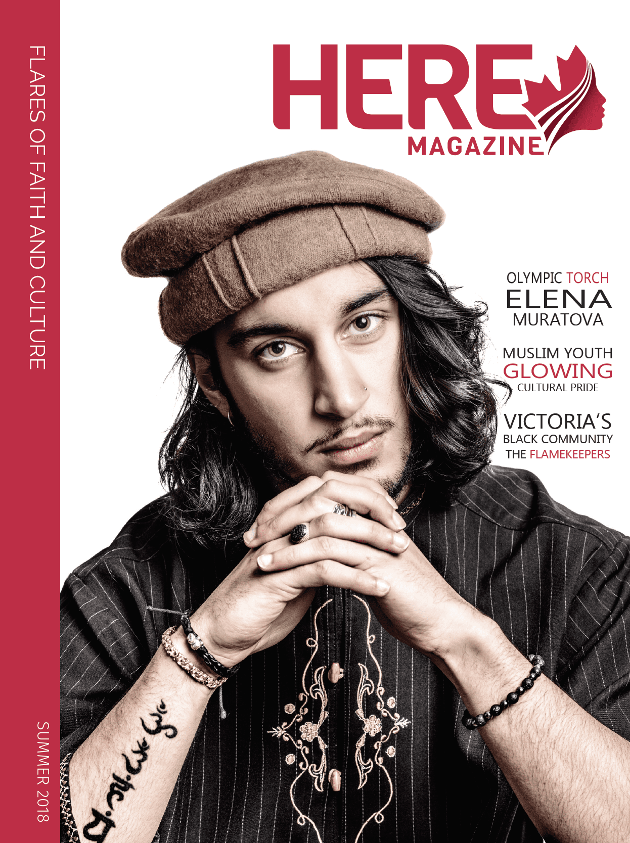 Here Magazine cover – Summer 2018
