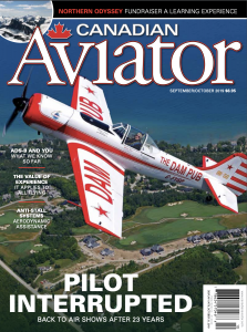Canadian Aviator 2019 Sept-Oct cover