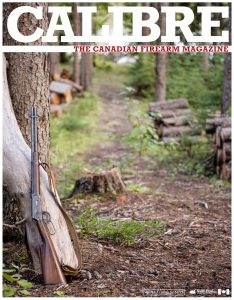 Calibre: The Canadian Firearm Magazine - issue #41 cover