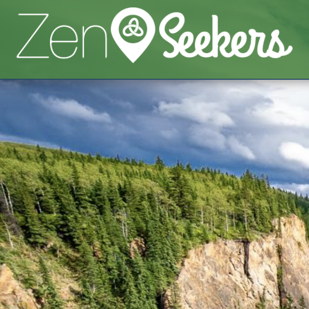 ZenSeekers - showing mountain and trees