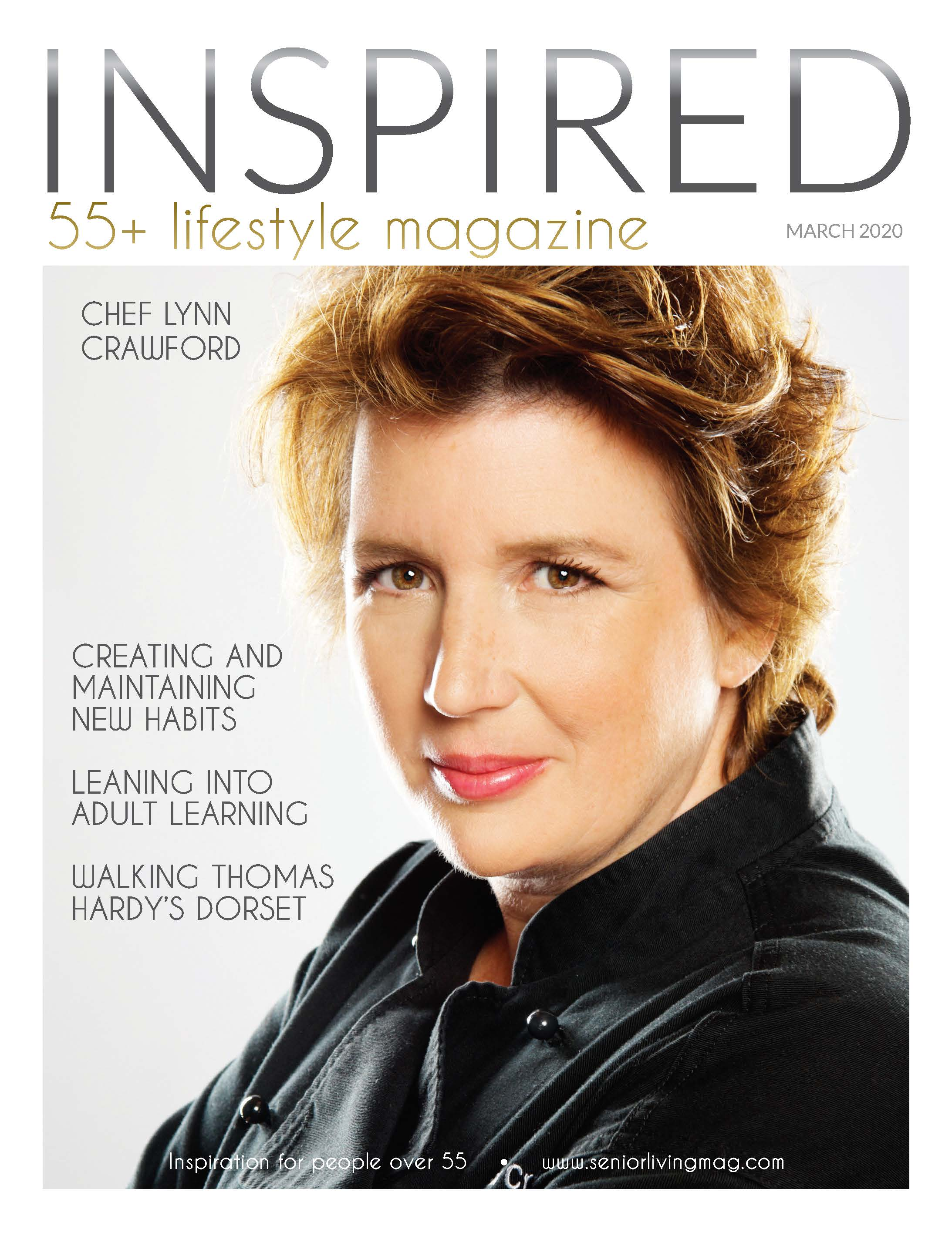 INSPIRED magazine - 2020 March Cover